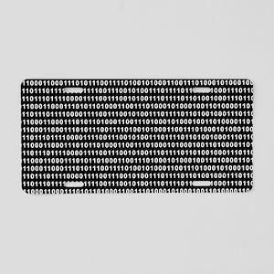 Binary Code 010 DOS Aluminum License Plate