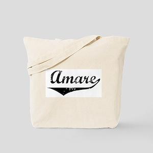 Amare Vintage (Black) Tote Bag