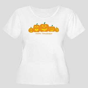 Happy Pumpkins Plus Size T-Shirt