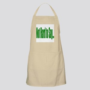 Not hard to say... BBQ Apron