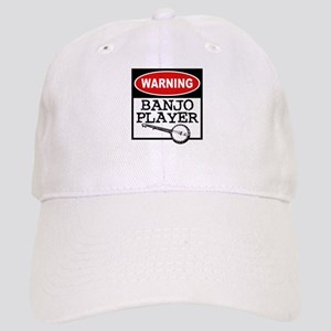 Warning Banjo Player Cap