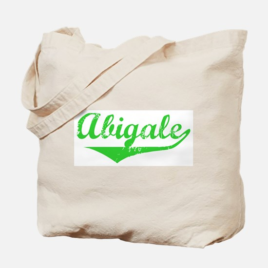 Abigale Vintage (Green) Tote Bag