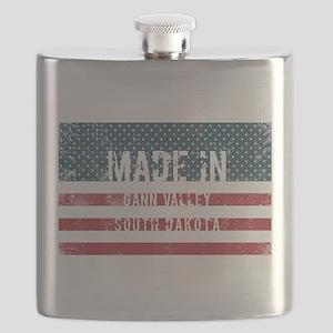 Made in Gann Valley, South Dakota Flask