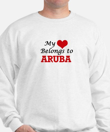 My Heart Belongs to Aruba Sweatshirt