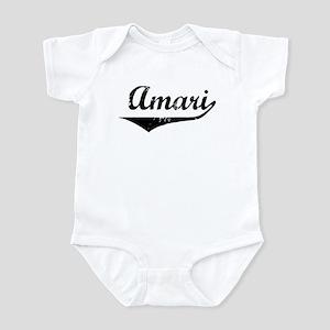 Amari Vintage (Black) Infant Bodysuit