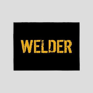 Welding: Stencil Welder (Black & Go 5'x7'Area Rug