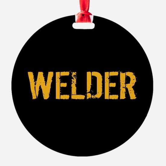 Welding: Stencil Welder (Black & Go Ornament