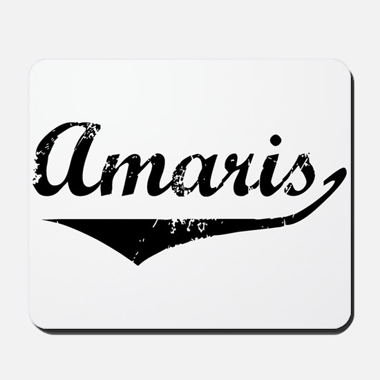 Amaris Vintage (Black) Mousepad