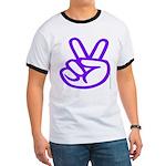 103. purple peace/ victory Ringer T