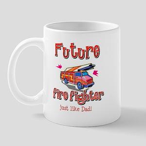 Future Firefighter just like Dad Mug