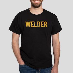 Welding: Stencil Welder Dark T-Shirt