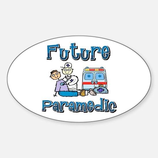 Future Paramedic Oval Decal