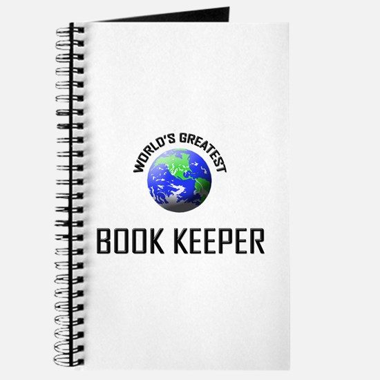 World's Greatest BOOK KEEPER Journal