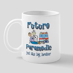 Future firefighter just like my brother Mug