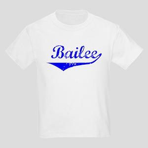 Bailee Vintage (Blue) Kids Light T-Shirt