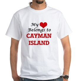 My Heart Belongs to Cayman Island T-Shirt