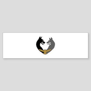 SanSan Sigil Bumper Sticker