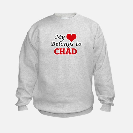 My Heart Belongs to Chad Sweatshirt