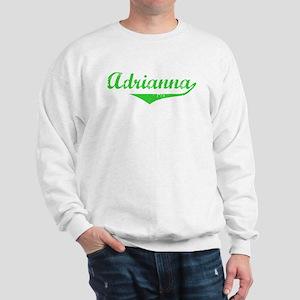 Adrianna Vintage (Green) Sweatshirt