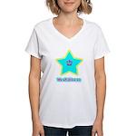 We All Shine On Women's V-Neck T-Shirt