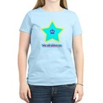 We All Shine On Women's Light T-Shirt