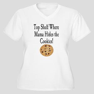Top Shelf Women's Plus Size V-Neck T-Shirt