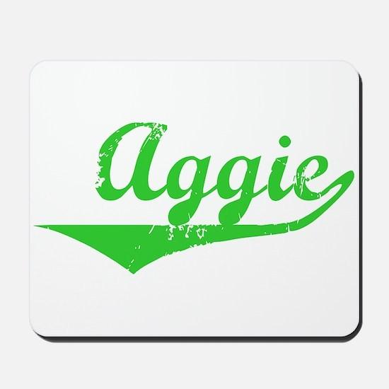 Aggie Vintage (Green) Mousepad