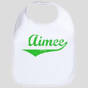 Aimee Vintage (Green) Bib