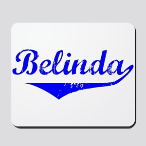 Belinda Vintage (Blue) Mousepad