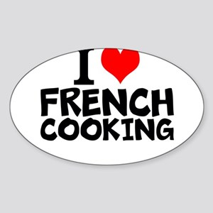I Love French Cooking Sticker