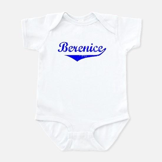 Berenice Vintage (Blue) Infant Bodysuit