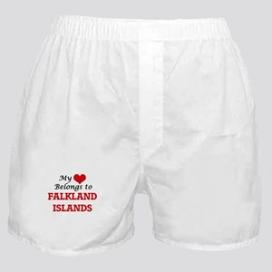 My Heart Belongs to Falkland Islands Boxer Shorts