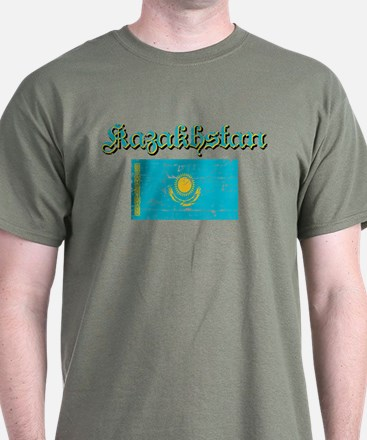 Kazakh Flag T-Shirt