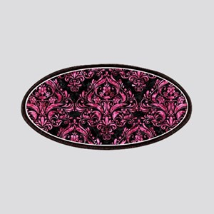 DAMASK1 BLACK MARBLE & PINK MARBLE Patch