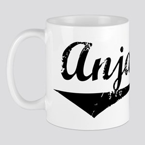Anjali Vintage (Black) Mug