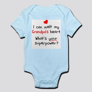Melt Grandpa's Heart Infant Bodysuit