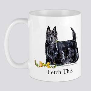 Scottish Terrier Holiday Dog Mug