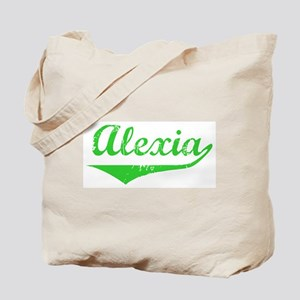 Alexia Vintage (Green) Tote Bag