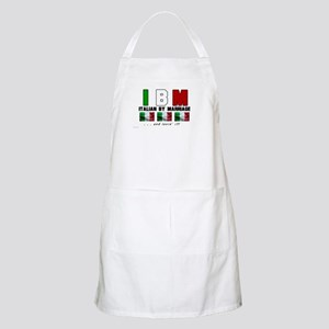 Italian By Marriage - and lov BBQ Apron