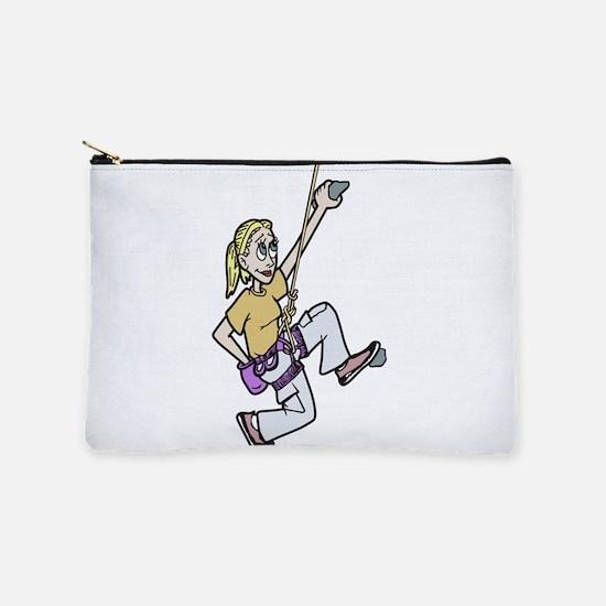 Girl Climbing Makeup Bag