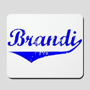 Brandi Vintage (Blue) Mousepad