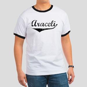 Araceli Vintage (Black) Ringer T