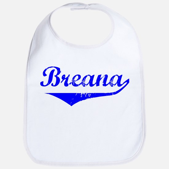 Breana Vintage (Blue) Bib