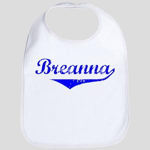 Breanna Vintage (Blue) Bib