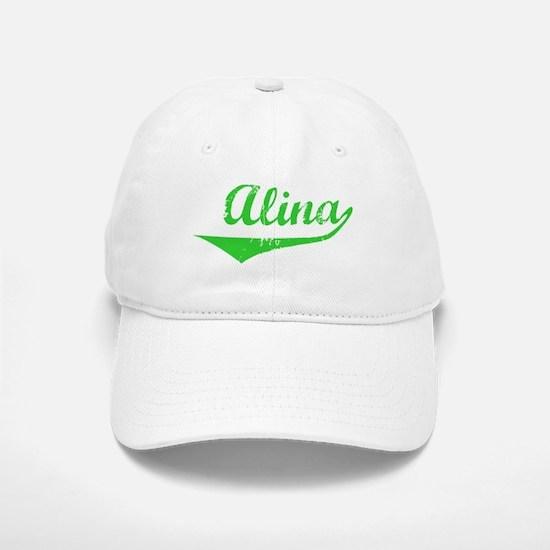 Alina Vintage (Green) Baseball Baseball Cap