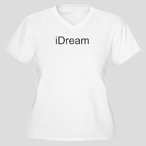iDream Women's Plus Size V-Neck T-Shirt