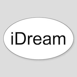 iDream Sticker (Oval)
