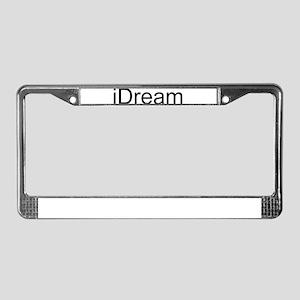 iDream License Plate Frame