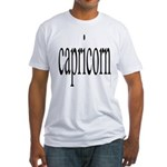 309. capricorn Fitted T-Shirt