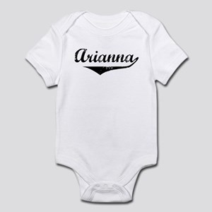 Arianna Vintage (Black) Infant Bodysuit